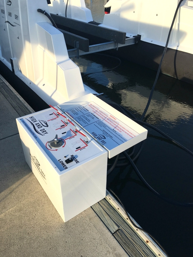 High and Dry Blower Box Boat Lifts
